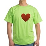 i-love-chocolate.png Green T-Shirt