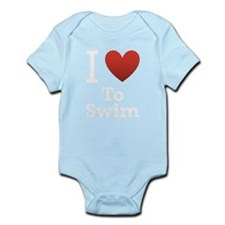 I-Love-to-swim.png Infant Bodysuit