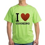 i-love-cooking.png Green T-Shirt