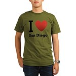 i-love-san-diego.png Organic Men's T-Shirt (dark)