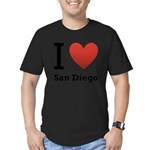 i-love-san-diego.png Men's Fitted T-Shirt (dark)
