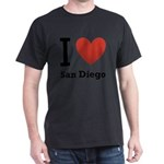 i-love-san-diego.png Dark T-Shirt