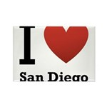 i-love-san-diego.png Rectangle Magnet (10 pack)
