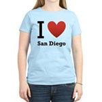 i-love-san-diego.png Women's Light T-Shirt