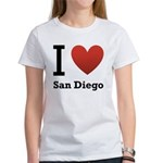 i-love-san-diego.png Women's T-Shirt
