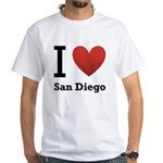 i-love-san-diego.png White T-Shirt