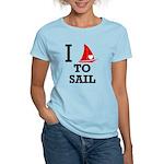 i-love-to-sail.png Women's Light T-Shirt
