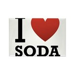 i-love-soda.png Rectangle Magnet (10 pack)
