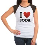 i-love-soda.png Women's Cap Sleeve T-Shirt