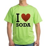 i-love-soda.png Green T-Shirt
