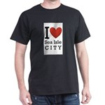 sea isle city rectangle.png Dark T-Shirt