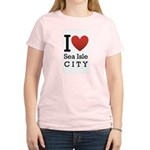 sea isle city rectangle.png Women's Light T-Shirt