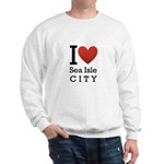sea isle city rectangle.png Sweatshirt