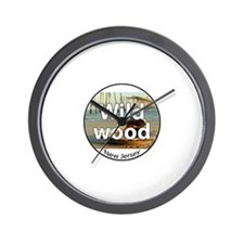 wildwood rectangle.png Wall Clock