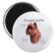 Rough Brussels Griffon Magnet
