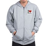 ihearteveryone.png Zip Hoodie