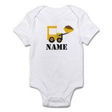 Personalized Digger Infant Bodysuit