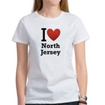 i love north jersey.png Women's T-Shirt