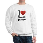 i love north jersey.png Sweatshirt