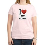 i love my horse.png Women's Light T-Shirt
