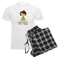 Personalized Library Lady Pajamas