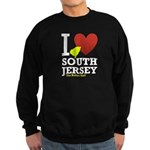 I love South Jersey Sweatshirt (dark)