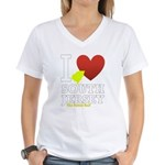 I love South Jersey Women's V-Neck T-Shirt