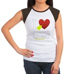 I love South Jersey Women's Cap Sleeve T-Shirt