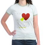 I love South Jersey Jr. Ringer T-Shirt