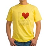 I love South Jersey Yellow T-Shirt