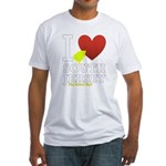 I love South Jersey Fitted T-Shirt
