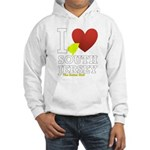 I love South Jersey Hooded Sweatshirt