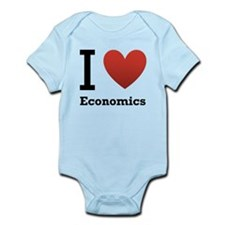 i-love-economics.png Infant Bodysuit
