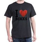 i-love-bikes.png Dark T-Shirt