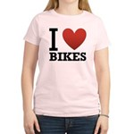 i-love-bikes.png Women's Light T-Shirt