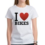 i-love-bikes.png Women's T-Shirt