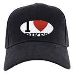 i-love-bikes.png Black Cap