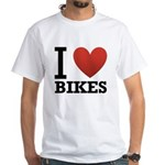 i-love-bikes.png White T-Shirt
