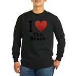 i-love-the-beach.png Long Sleeve Dark T-Shirt