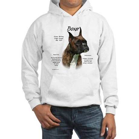 Brindle Boxer Hooded Sweatshirt