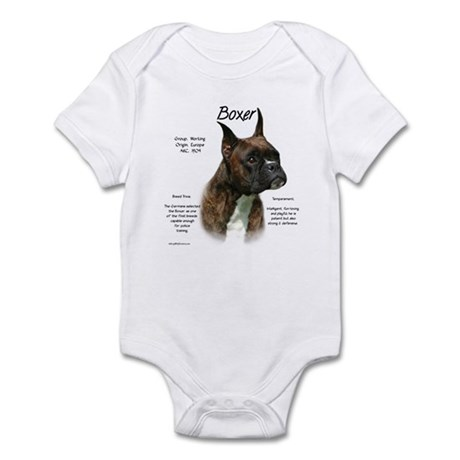 Brindle Boxer Infant Bodysuit