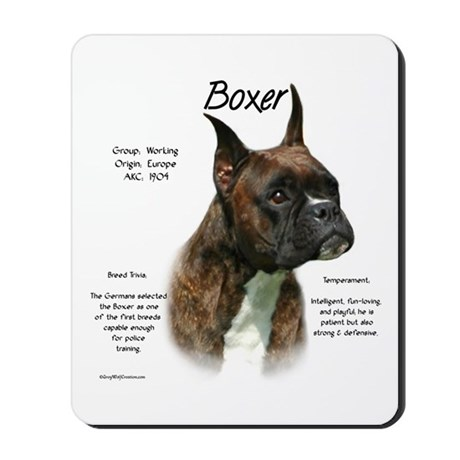 Brindle Boxer Mousepad