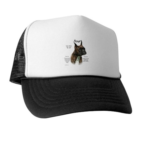 Brindle Boxer Trucker Hat