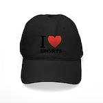 I Love Sports Black Cap
