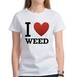 i-love-weed.png Women's T-Shirt