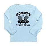 Mommy's Future Tennis Buddy Long Sleeve Infant T-S