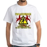 Warning - Zombies come, Im Tripping you Shirt