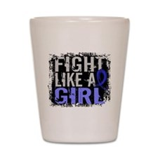 Fight Like a Girl 31.8 Arthritis Shot Glass