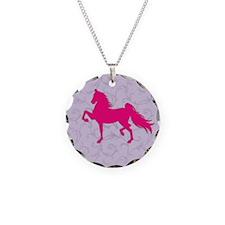 Cute Saddlebred Necklace