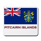 The Pitcairn Islands Flag Merchandise Mousepad